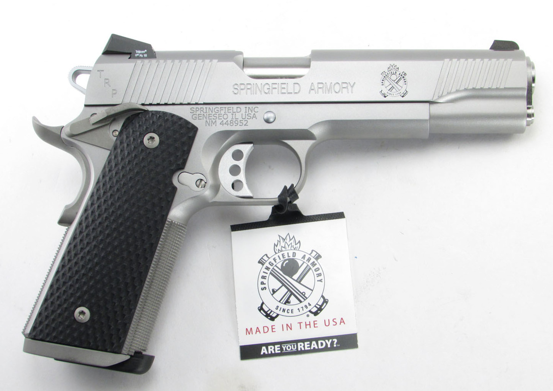 Springfield trp stainless semi auto pistols at for Springfield registry of motor vehicles